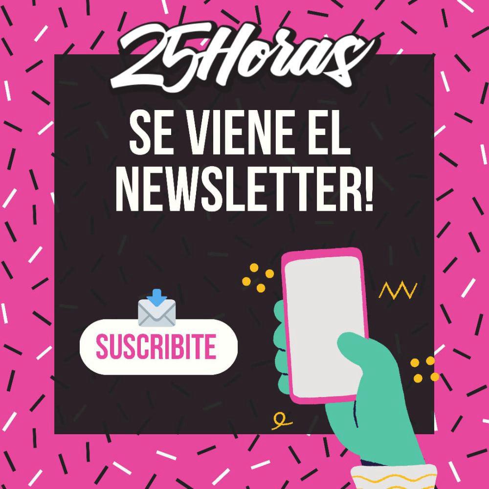 💌 ¡Suscribite al newsletter! 💌