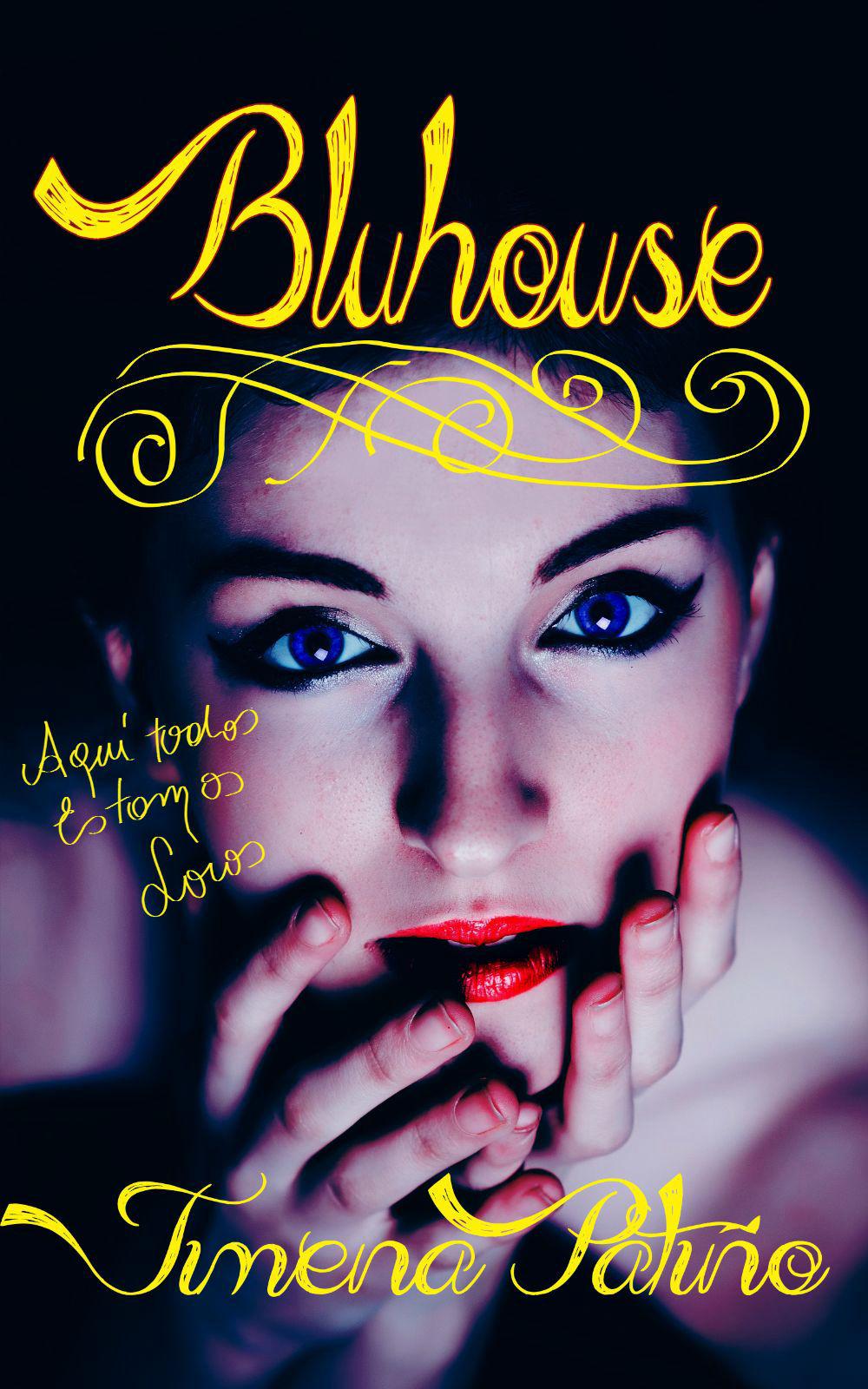 La portada de mi primera novela