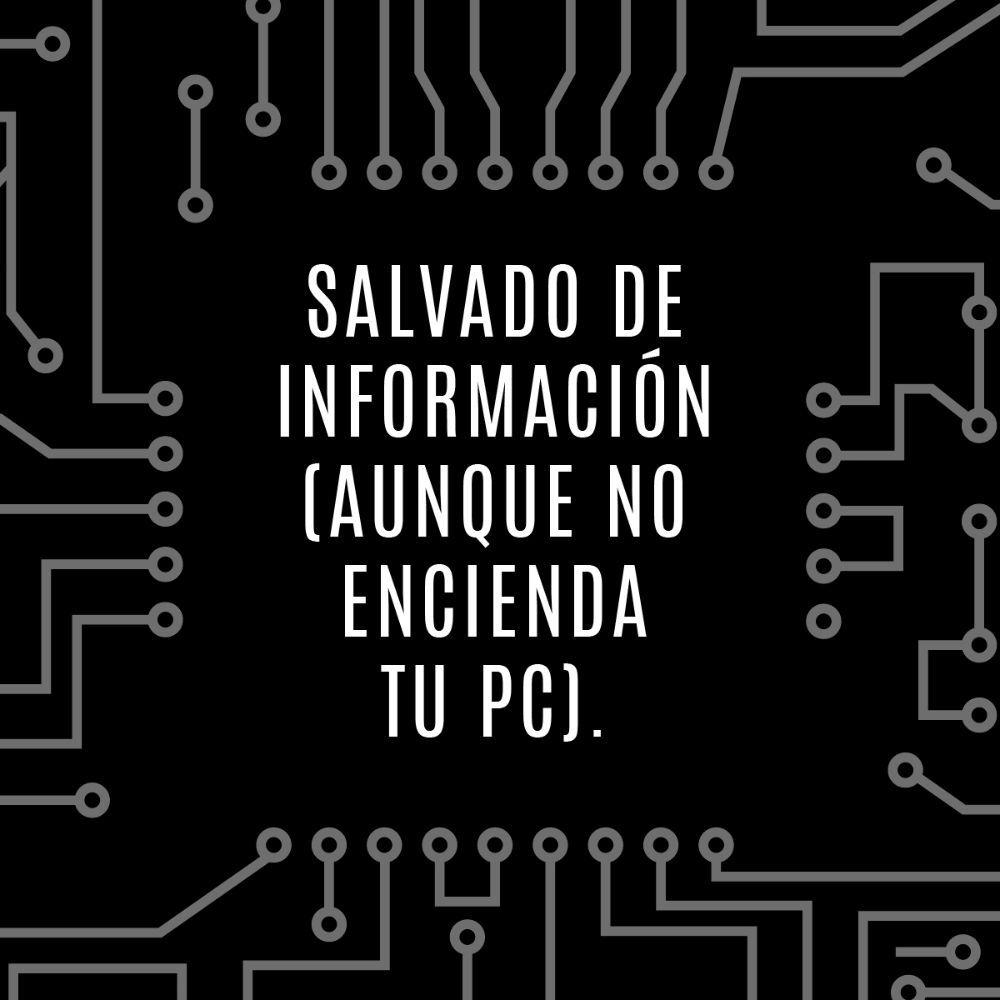 Salvado de Información