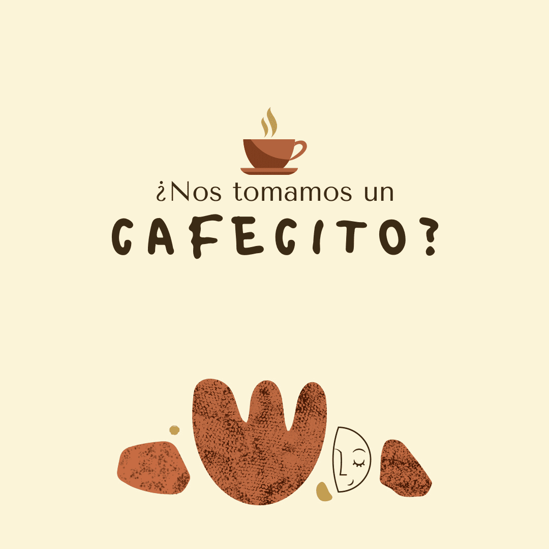 ¿Nos tomamos un cafecito?