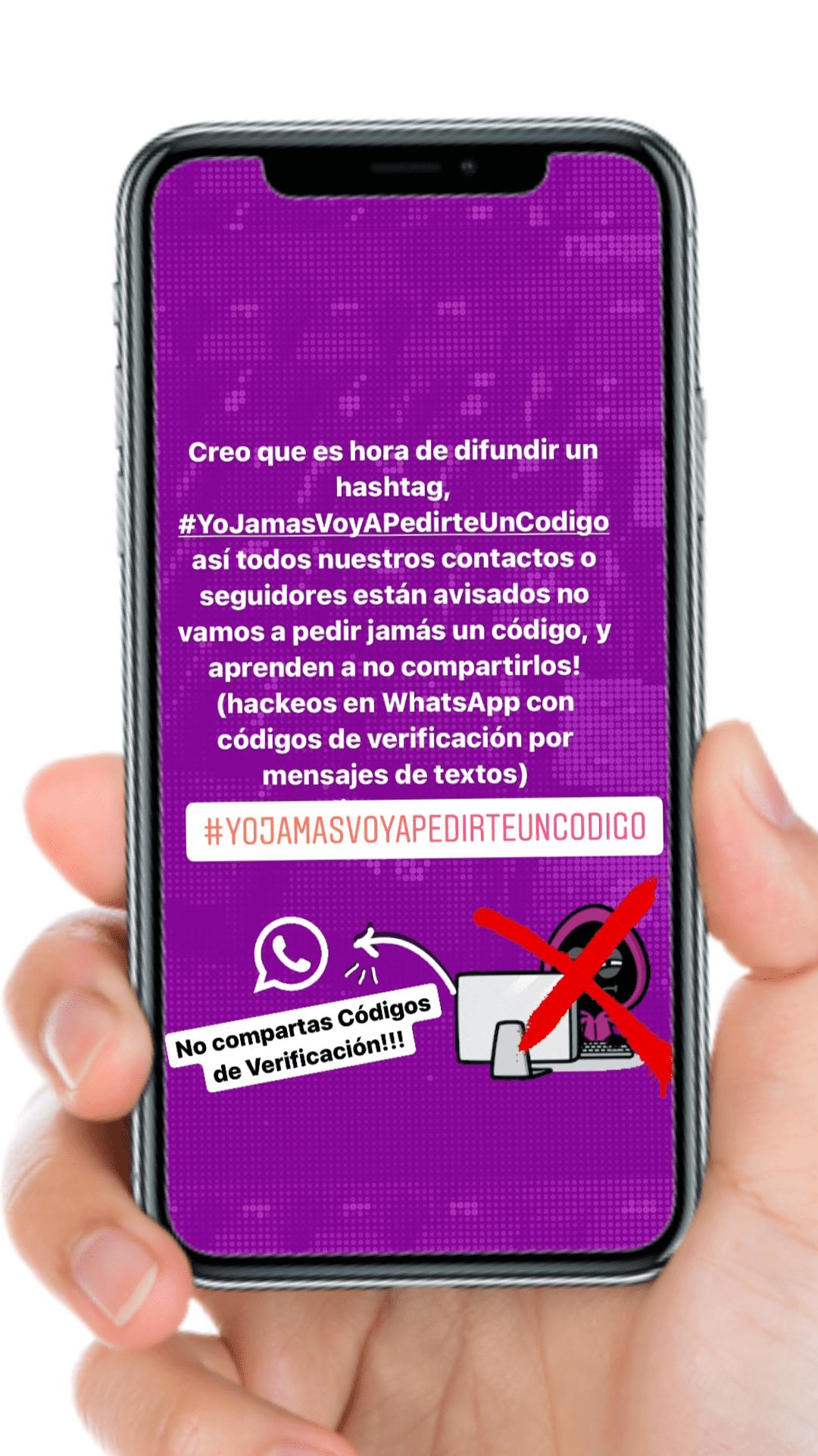 Alerta de hackeo en WhatsApp!!!