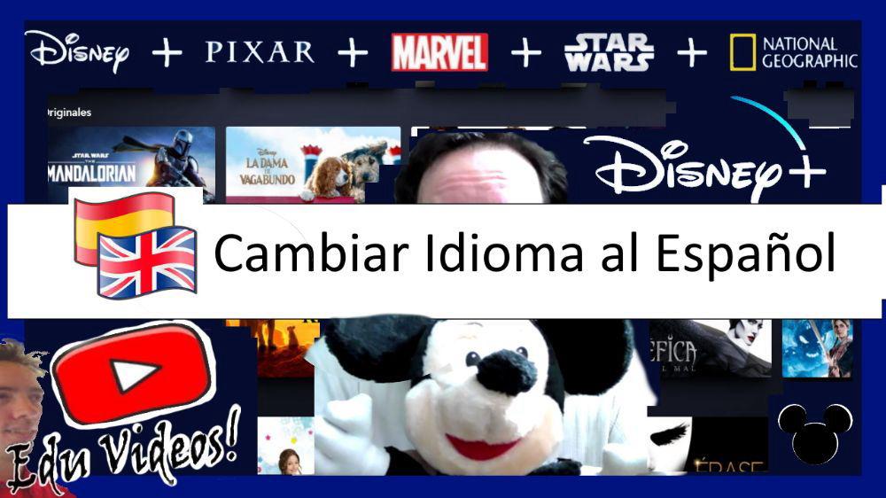 EduVideos❗ Disney plus cambiar idioma español