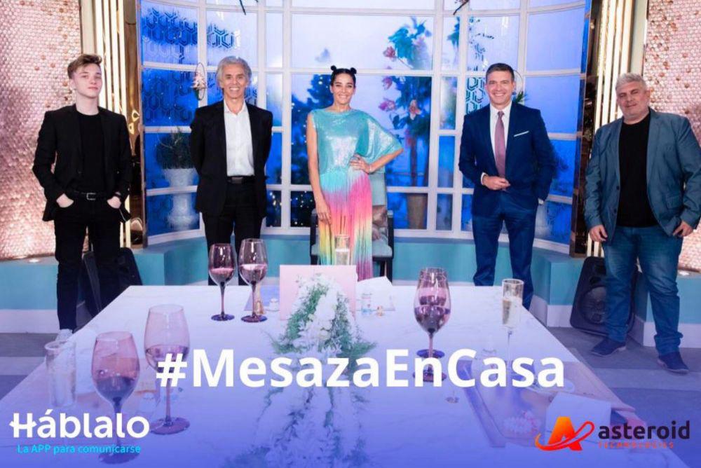 ¡GRACIAS! #MesazaEnCasa
