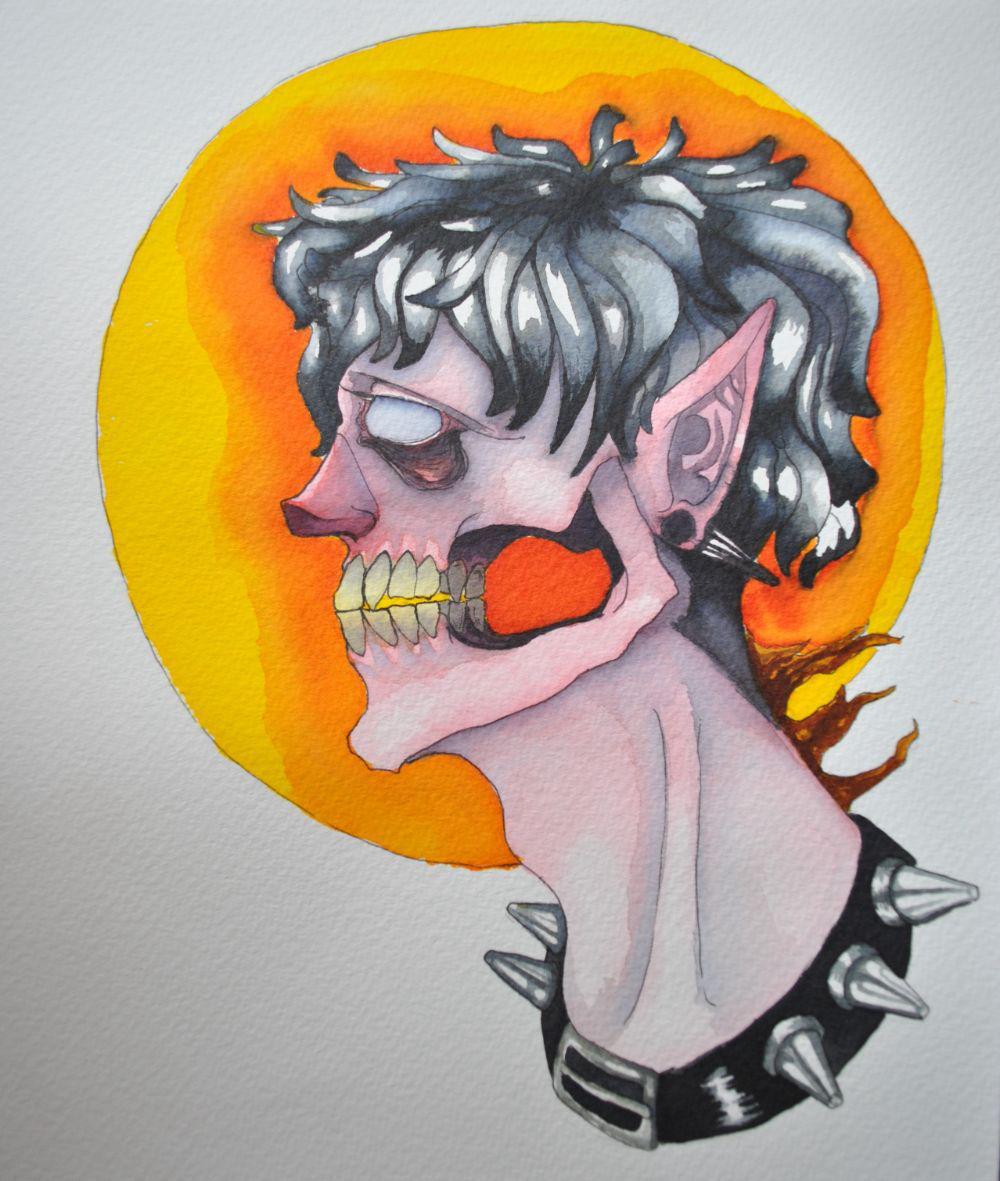 Dibujito con acuarelas owo