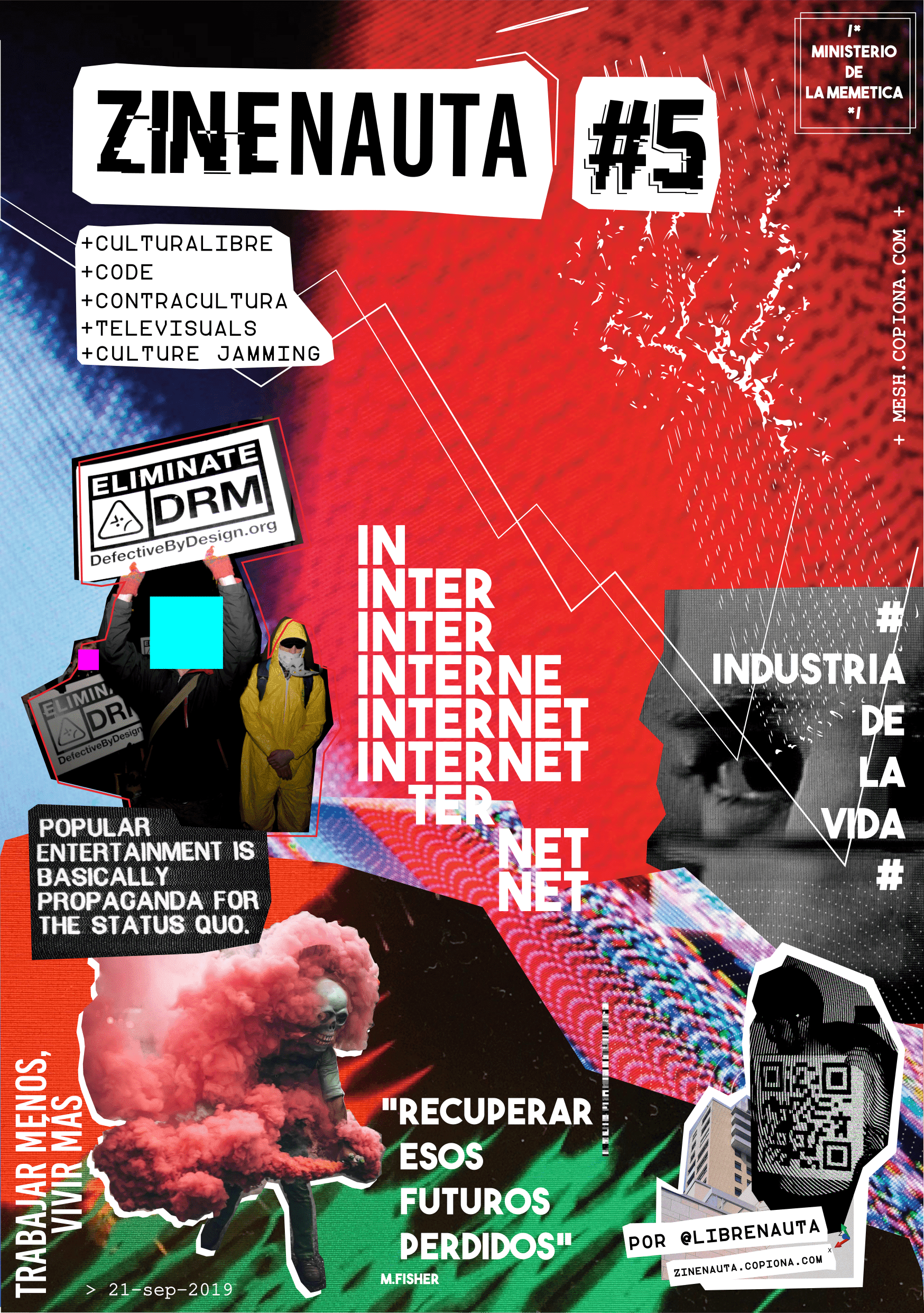 #Zinenauta, web | físico zine de cultura libre && internet's