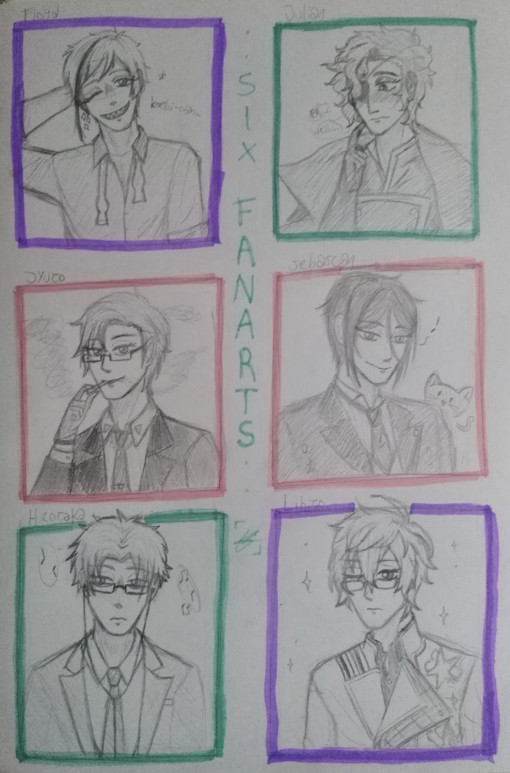 • Six Fanarts •