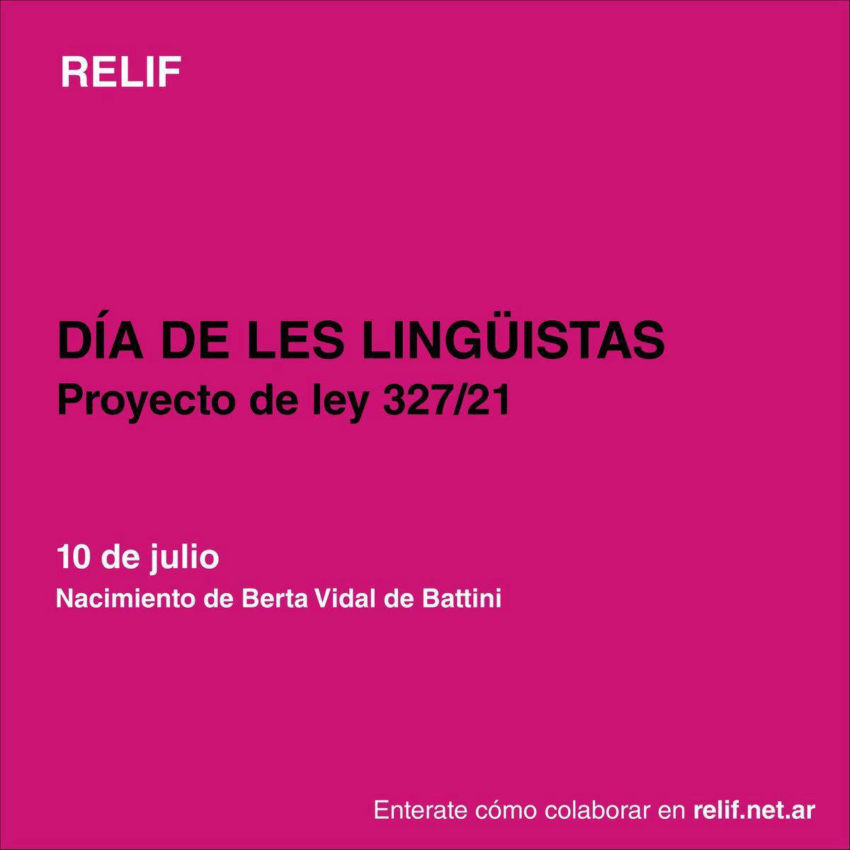 Día de les lingüistas