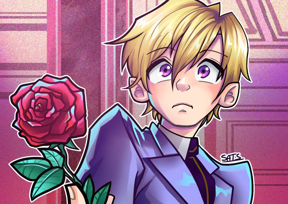Ouran High School ♥screencap redraw♥