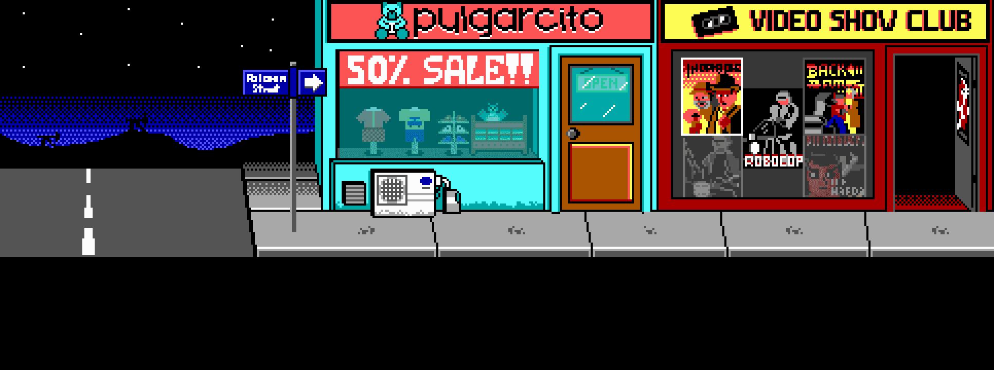 Pulgarcito's y video show club (exteriores)