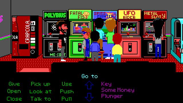 Otra cosa que no podía falta, un arcade!