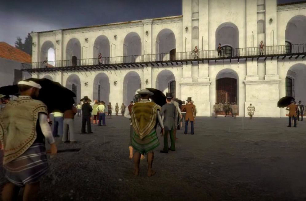 Plaza de Mayo 1810